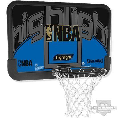 Foto de Tablero NBA highlight backboard