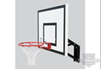 Foto de Canasta regulable basket/minibasket adaptable poste/pared