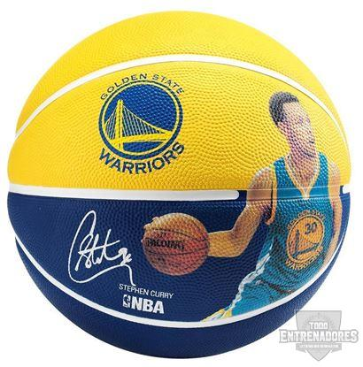 Foto de Balón NBA player  ball Stephen Curry