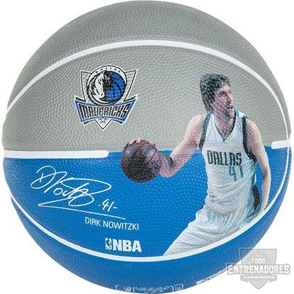 Foto de Balón NBA player ball Dirk Nowitzki
