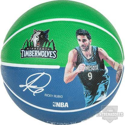 Foto de Balón NBA player ball Ricky Rubio