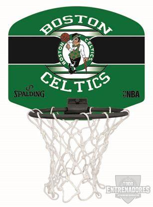 Foto de Minicanasta NBA miniboard Boston Celtics