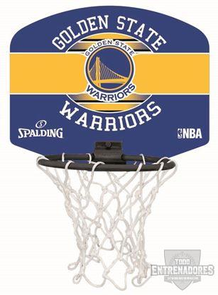 Foto de Minicanasta NBA miniboard Golden State Warriors