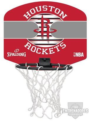 Foto de Minicanasta NBA miniboard Houston Rockets