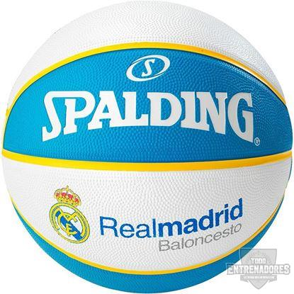 Foto de Balón Euroleague team ball  Real Madrid