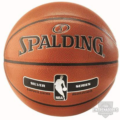 Foto de Balón NBA Silver In/Out