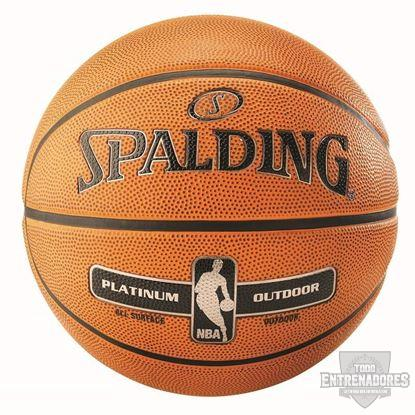 Foto de Balón NBA  platinum outdoor