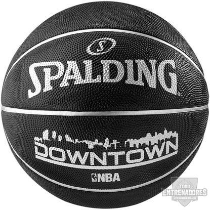 Foto de Balón NBA downtown black
