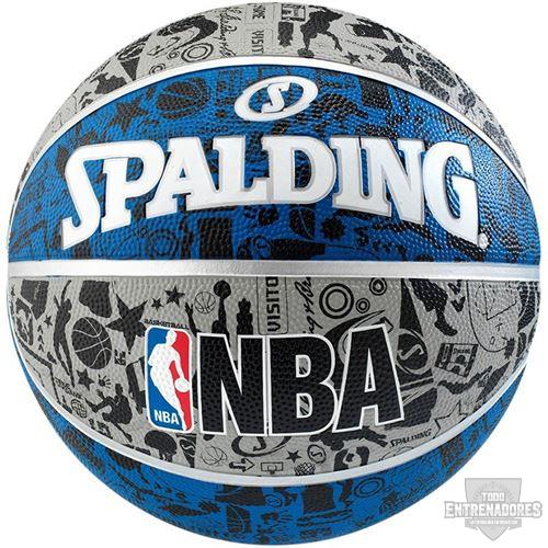 Foto de Balón NBA graffiti